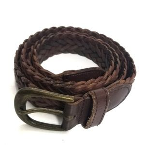 bp | Leather Woven Belt